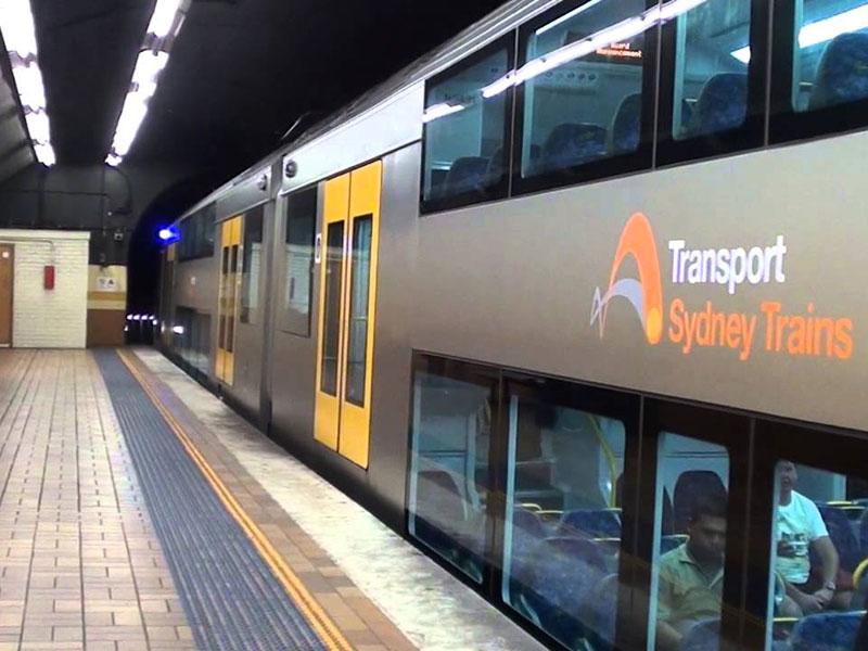 Sydney City Circle Train